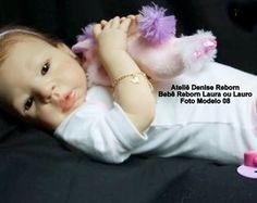 Boneca Bebê Reborn Laura ou Lauro