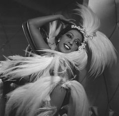 Josephine Baker! Josephine Baker was a dancer and singer who became wildly popular in France during the 1920s. She also devoted much of her life to fighting racism.