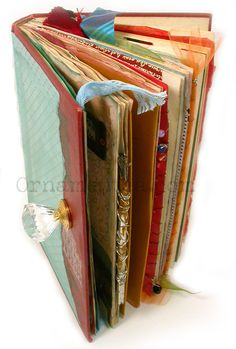 Beginning Altered Books with Tracey Johnson, http://www.ornamentea.com/Classes.html