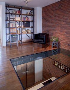 1000 images about plancher verre on pinterest glass - Fermeture mezzanine verre ...