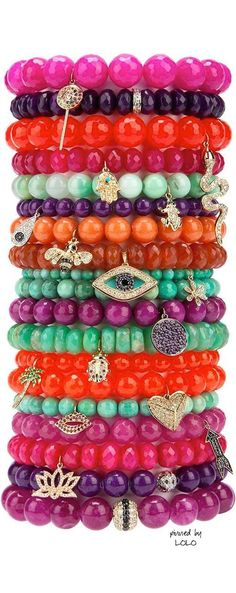Sydney Evan Multi colored bracelets First Lady Michelle Obama has me hooked on these now!