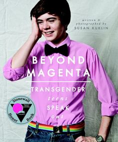 A groundbreaking work of LGBT literature takes an honest look at the life, love, and struggles of transgender teens. Author and photographer Susan Kuklin met and interviewed six transgender or gender-neutral young adults and used her considerable skills to represent them thoughtfully and respectfully before, during, and after their personal acknowledgment of gender preference.
