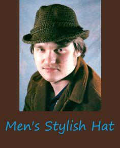 Vintage 1970's Crochet Pattern Men's Stylish by TheDarlingAttic, $2.99