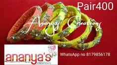 Zardosi bangles ... WhatsApp number8179856178