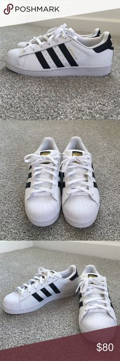 Adidas Women Superstar Shoes White Adidas Women's Superstar shoes size 8. Brand new. Could fit size 9. Adidas Shoes Sneakers