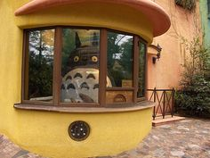 Studio Ghibli Museum, Mitaka, Japan. Take just half day from Tokyo to visit, easily accessible by train. Beautiful and creative museum! Best if you have seen a few of the movies.