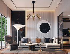 Home Room Design, Master Bedroom Design, Living Room Designs, Residential Interior Design, Best Interior Design, Interior Architecture, Modern Lounge, Studio Interior, Luxurious Bedrooms