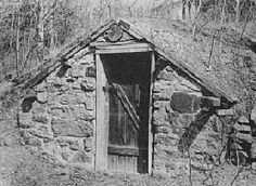 Root Cellar!!!  WANT one so I can stock up on fresh local produce at farmer's markets when it's in season, and then not get ripped off at grocers in winter for imported expensive produce.  Such a great idea!