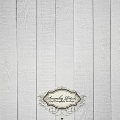 5ft x 5ft Vinyl Photography Backdrop  / White Gray Wood. $52.99, via Etsy.