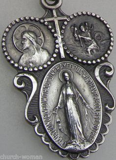 Cross Catholic Miraculous Medal
