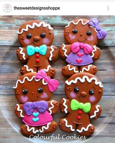 Gingerbread men have a very high sugar content, so remember to brush your teeth after eating cookies. Gingerbread Man Cookies, Christmas Sugar Cookies, Christmas Sweets, Christmas Gingerbread, Noel Christmas, Holiday Cookies, Christmas Baking, Gingerbread Men, Christmas Style