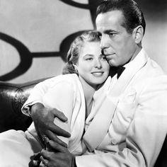Humphrey Bogart/Ingrid Bergman  CASABLANCA