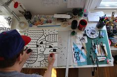 Making of by Andy Rementer, via Flickr