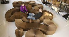 Objeto flexible - Soft-seating de Molo design. Mireia Grados Vergara