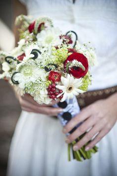 Bouquet by Studio Fleurette. Photo by @Emily Steffen. #wedding