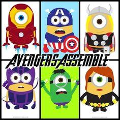 Minions Avengers Assemble!