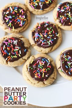 peanut butter party cookies