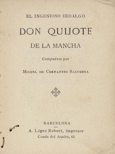 Don Quijote - Miguel de Cervantes Savedra
