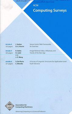 Публикации в журналах, наукометрической базы Scopus  Computing Surveys #Computing #Surveys #Journals #публикация, #журнал, #публикациявжурнале #globalpublication #publication #статья