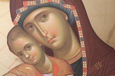 Byzantine Icons, Byzantine Art, Religious Icons, Religious Art, Religion Catolica, Russian Icons, Best Icons, Madonna And Child, Orthodox Icons