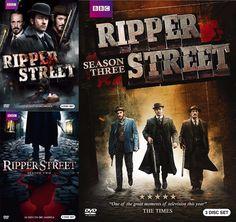 Ripper Street Seasons 1-3 (DVD)