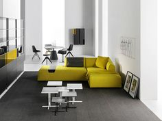 Thea seating system by MDF Italia. Available in Los Angeles at Graye Elle Decor, Sofas, Cushions, Couch, Unique, Table, Chairs, Furniture, Home