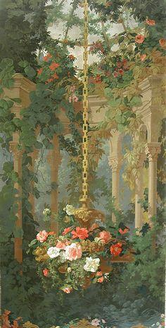 "A ""Romantic"" Floral Scenic | Cooper Hewitt, Smithsonian Design Museum"