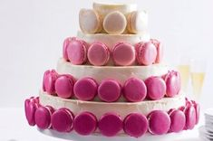Makronky | Apetitonline.cz Cheesecake, Butter, Birthday Cake, Cream, Food, Creme Caramel, Cheesecakes, Birthday Cakes, Essen