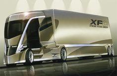 Futuristic Truck, Future Vehicle, XFC208