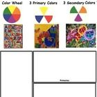 Color Theory is really fun to explore when looking at Laurel Burch's art work. This packet contains 7 worksheets showing Color Theory for elementar...