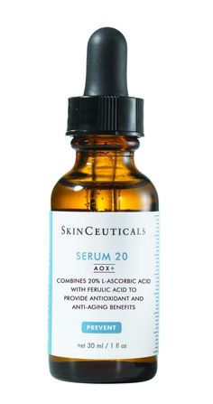 Serum 20 AOX+ Formulated at the precise concentration proven to deliver maximum amounts of vitamin C to the skin, Serum 20 is now formulated with AOX+ advanced antioxidant technology, combining ferulic acid with 20% L-ascorbic acid to enhance antioxidant performance Price: $118.00