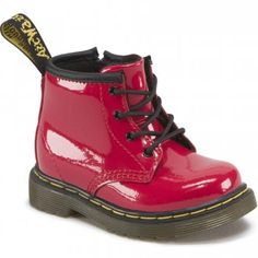 Dr. Martens Brooklee B Infant Girls Cherry Red Lace Up Boots. Just bought these...
