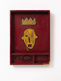Estate of Jan Krugier, Jean-Michel Basquiat, Untitled, acrylic and marker on wood, 22 by 16 by 3 in. Jean Basquiat, Jean Michel Basquiat Art, Basquiat Paintings, Radiant Child, Bokashi, Art Brut, American Artists, Art Day, Pop Art