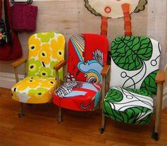 Marimekko Upholstered Theater Seats!: