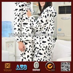 cows spotted fashion lovely women pajamas $6.8~$9.2