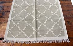 Lattice Rug in Blue/Grey - WARINGS Store Available on http://www.waringsathome.co.uk/for-the-home/rugs.html?limit=all