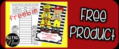 All Y'all Need: Fire Safety Week! Fire Safety ABC Order Activity Page FREEBIE!! Pinned by SOS Inc. Resources. Follow all our boards at pinterest.com/sostherapy/ for therapy resources.