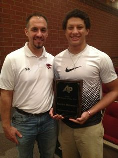 Whitehouse's Patrick Mahomes named Texas High School Football Player of the Year | KETK | East Texas News, Weather and Sports | Tyler, Longv...