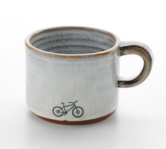 Ceramics by Julia Smith at Studiopottery.co.uk - 2015. Mountain bike mug