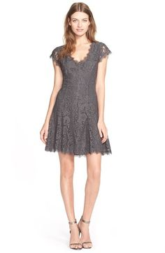 Joie 'Eshe' Lace Fit & Flare Dress available at #Nordstrom