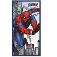 Serviette de plage ou drap de bain Spiderman ref 119