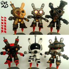Rocket Dunnys by Fer MG