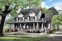 Elevation of Country   Southern   House Plan 61020