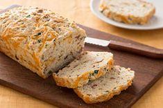 Buttermilk Cheddar-Bacon Bread Recipe - Kraft Recipes