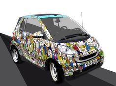 smart fortwo cloud design panels - Google Search