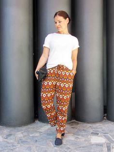 T-shirt and pants from Samuji