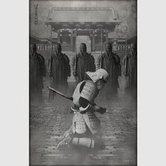 """Seppuku"" from the Galactic Samurai™ series by Billy Ludwig 