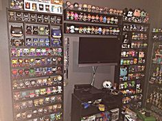 Your display, the Funko way! - Page 113 - Funko Funatic Funko Pop Display, Pop Custom, Geek Room, Pop Collection, Collection Displays, Geek Decor, Man Cave Home Bar, Display Case, Display Ideas