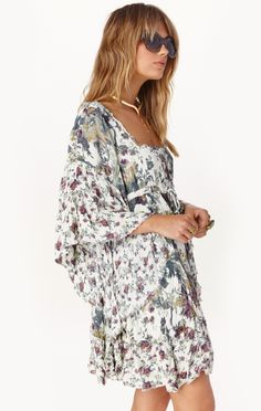 heart of gold mini dress by Free People | PLANET BLUE