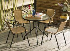 Es tiempo de disfrutar del aire libre. ¿Ya tienes tu juego de terraza? #Homecenter #Sodimac #Terraza